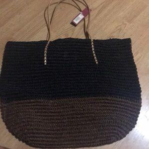 Large market bag Merona NWT